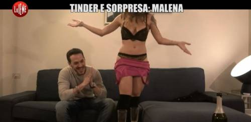 Su Tinder trova Malena: lo scherzo hot delle Iene