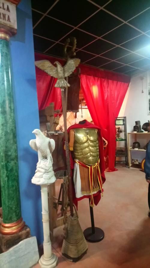 Il quartier generale dei rievocatori del Gruppo Storico Romano 4