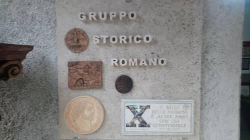 Il quartier generale dei rievocatori del Gruppo Storico Romano 7
