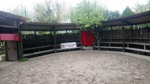 Il quartier generale dei rievocatori del Gruppo Storico Romano 9