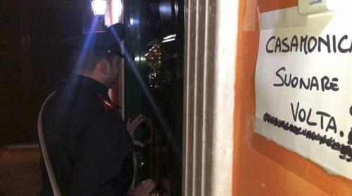 Lo spaccio di Casamonica nella villa confiscata