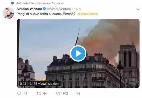 Notre Dame brucia, le reazioni vip: foto 6