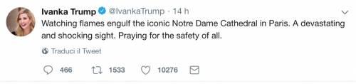 Notre Dame brucia, le reazioni vip: foto 8