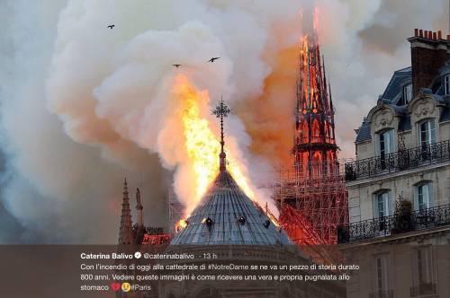 Notre Dame brucia, le reazioni vip: foto 4
