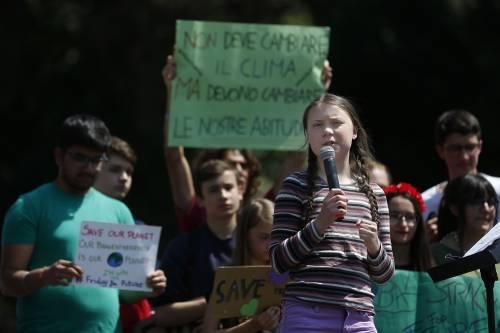 Greta Thunberg a Roma per il clima 7