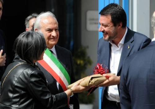 Matteo Salvini inaugura il nuovo commissariato di polizia di Corleone 3
