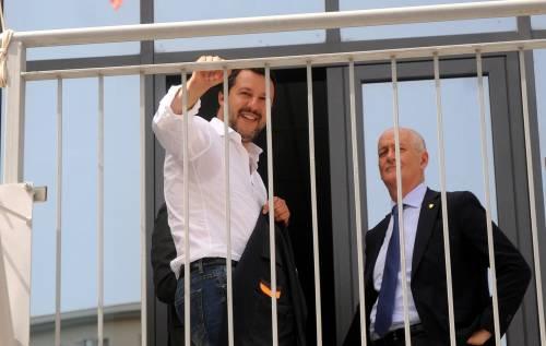 Matteo Salvini inaugura il nuovo commissariato di polizia di Corleone 4