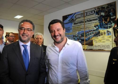 Matteo Salvini inaugura il nuovo commissariato di polizia di Corleone 5