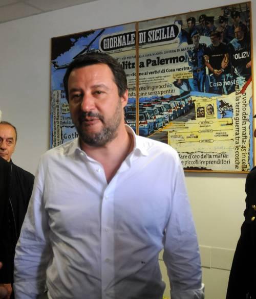 Matteo Salvini inaugura il nuovo commissariato di polizia di Corleone 6