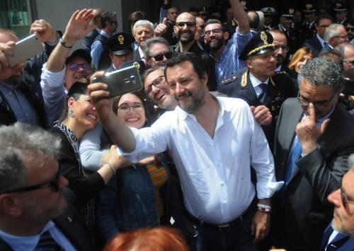 Matteo Salvini inaugura il nuovo commissariato di polizia di Corleone 7