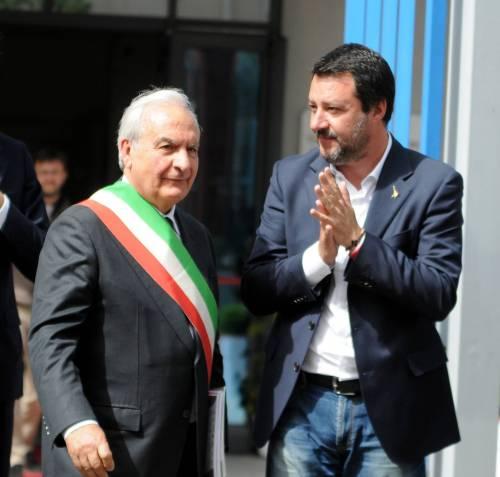 Matteo Salvini inaugura il nuovo commissariato di polizia di Corleone 9