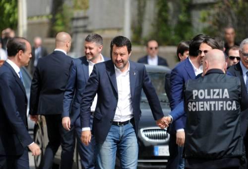 Matteo Salvini inaugura il nuovo commissariato di polizia di Corleone 11