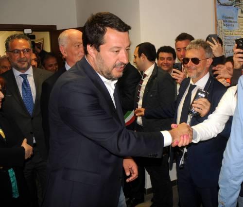 Matteo Salvini inaugura il nuovo commissariato di polizia di Corleone 13
