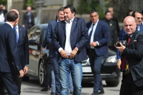 Matteo Salvini inaugura il nuovo commissariato di polizia di Corleone 15
