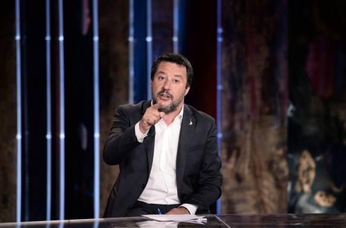 """Affondo di Salvini: """"Il reddito di cittadinanza non fa ripartire il Paese"""""""
