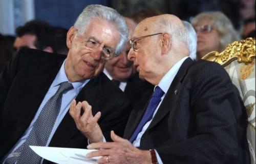 Napolitano e Monti in campo per la crociata anti-sovranisti