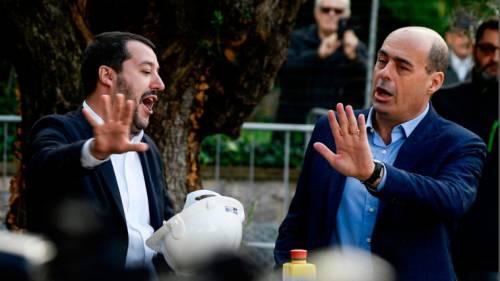 Se pure la camorra è colpa di Salvini