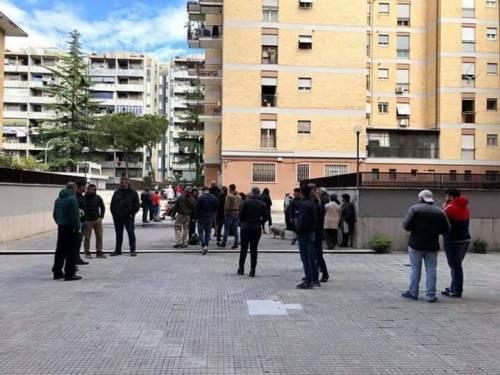 Nuova protesta anti-rom a Casal Bruciato 2