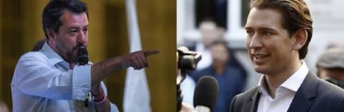Salvini adesso zittisce l'Austria: Non prendiamo lezioni da voi
