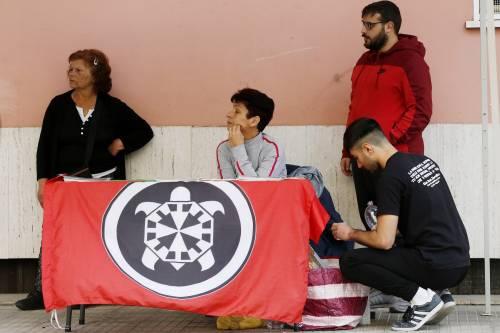 Tensione tra Casapound e antifascisti a Casal Bruciato 7