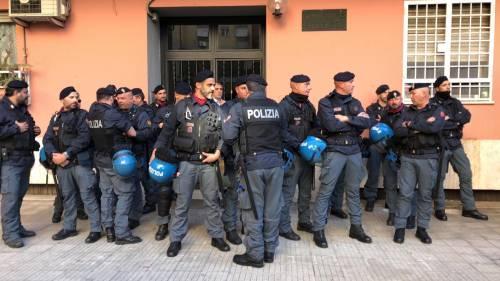 Tensione tra Casapound e antifascisti a Casal Bruciato 11