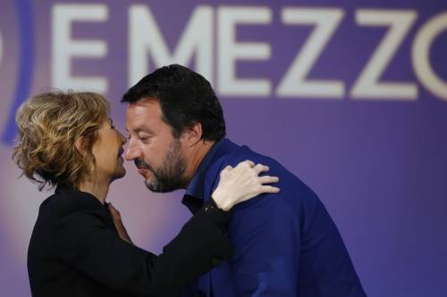 """Salvini sfida Gruber: """"Il suo è il programma meno fazioso della tv"""""""