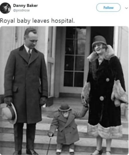 Pubblica la foto di una scimmia per dare il benvenuto al royal baby Archie: la Bbc lo licenzia in trnco