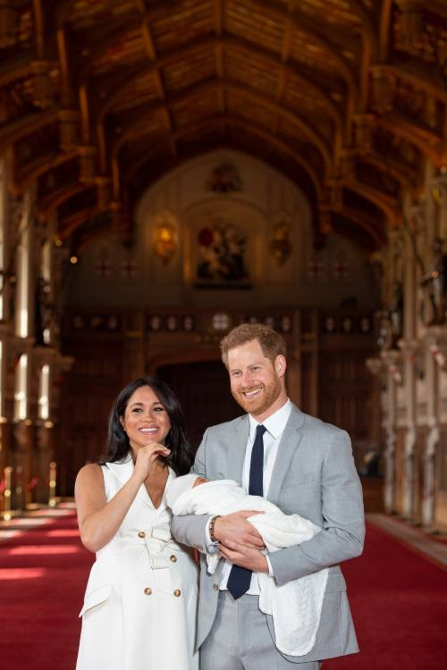 Meghan Markle, il Principe Harry e la Regina Elisabetta II: foto 8