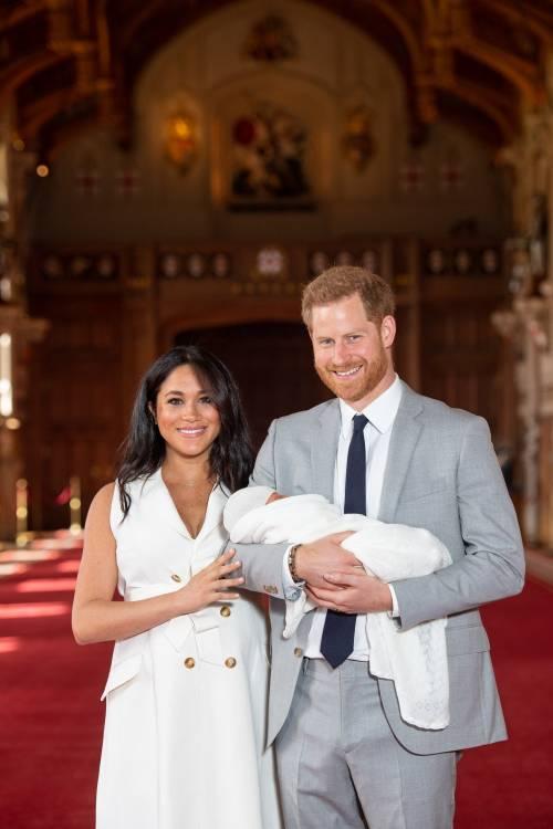 Meghan Markle, il Principe Harry e la Regina Elisabetta II: foto 10