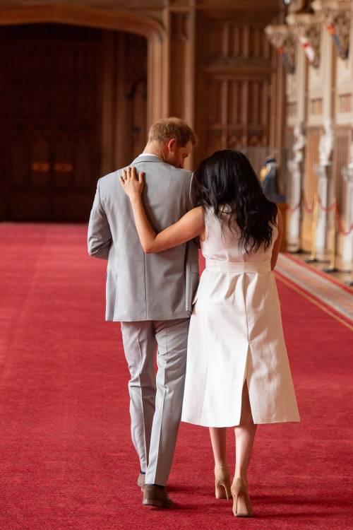 Meghan Markle, il Principe Harry e la Regina Elisabetta II: foto 7