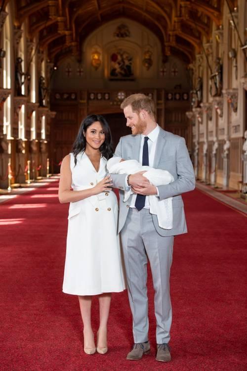 Meghan Markle, il Principe Harry e la Regina Elisabetta II: foto 6