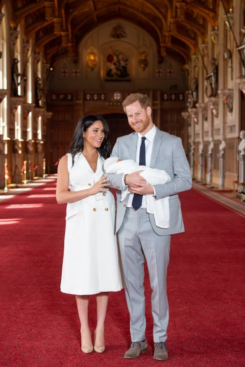 Meghan Markle, il Principe Harry e la Regina Elisabetta II: foto 11