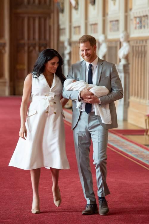 Meghan Markle, il Principe Harry e la Regina Elisabetta II: foto 12