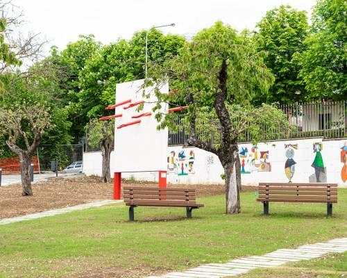 """Le opere d'arte del parco giochi """"Padre Minozzi"""" di Amatrice 10"""