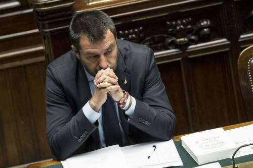 Proiettile in busta per Salvini: