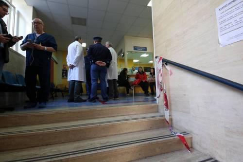 Sparatoria in ospedale a Napoli 9