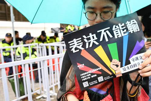 C'è una Cina dei diritti umani: Taiwan riconosce le nozze gay