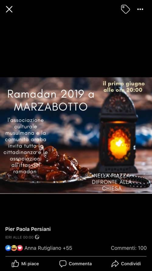 Marzabotto, la provocazione dei musulmani: festeggiano la fine del Ramadan di fronte alla Cfhiesa