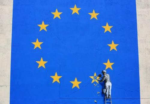 Dover, sparito murale di Banksy sulla Brexit