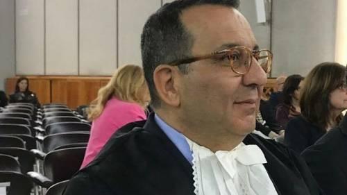 Lecce, il nuovo presidente della corte d'appello si insedia e cade