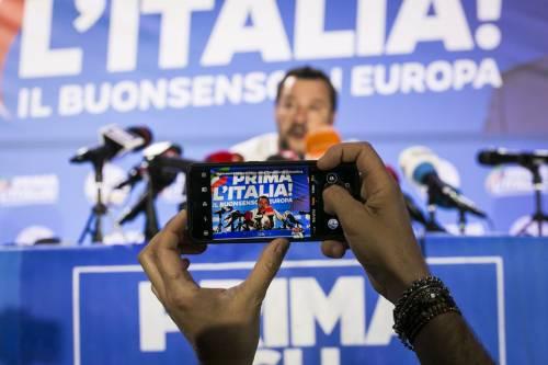 Salvini parla da premier e sfida già la Ue sul debito