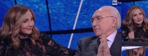 """Lorella Cuccarini celebra i 60 anni di Pippo Baudo in tv: """"Andai nel panico, lui mi incoraggiò"""""""