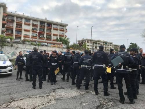 Case popolari, blitz della polizia a Bastogi