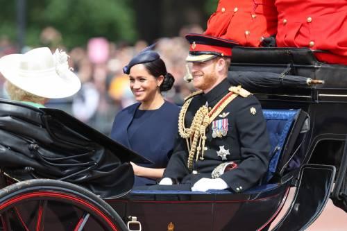 La famiglia reale per il Trooping The Colour 2019 2