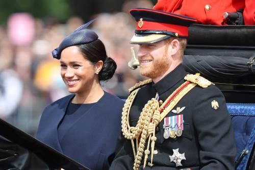 La famiglia reale per il Trooping The Colour 2019 3