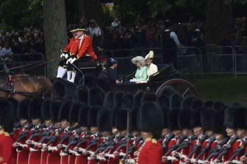 La famiglia reale per il Trooping The Colour 2019 7