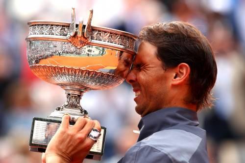 Roland Garros, Nadal da leggenda: conquista il dodicesimo titolo a Parigi
