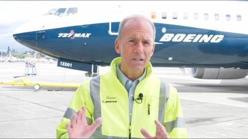 Boeing, al ceo cacciato un assegno da 62 milioni di dollari