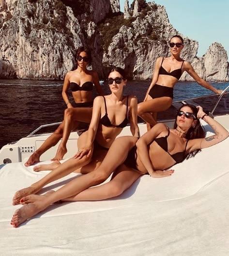 Tutti pazzi per Capri, i vip prendono d'assalto l'isola 7