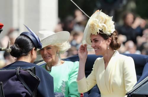 Royal Family, i Cambridge al Trooping the Colour: foto 1